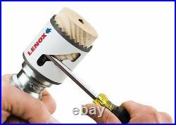 LENOX 13-Piece Bi-Metal Hole Saw Kit NEW! Storage Case Set Plumbers Electricians