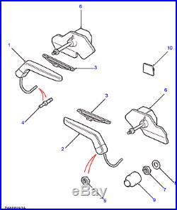 Land Rover Range Rover P38 1995-2002 Headlamp Wiper Blade Set # Dkc100860