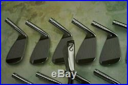 MIURA Vintage Prototype Original Finish Blade Set. Ultra Rare Iron Set