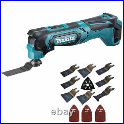 Makita TM30DZ 10.8V CXT Cordless Multi Tool Cutter with 39 Piece Accessories Set