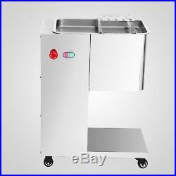 Meat Cutter Meat Cutting Machine Slicer 500KG Output & 1 Set Blade 110V