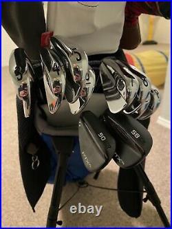 Mens Left Handed Complete Golf Set With Bag & Balls Must See