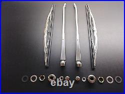 Mercedes Benz Wiper Blade, Arm and Hardware Set W113 230SL, 250SL, 280SL New