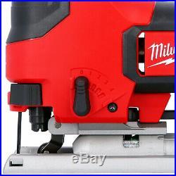 Milwaukee M18BJS-0 18v Jigsaw With 20 Piece Assorted Wood & Metal Blade Set