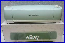 Mint Green Cricut Explore Air 2 Smart Cutting Machine with Cables -Needs Blade Set