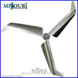 Missouri Falcon 62 Inch Diameter 3 Blade & Wind Turbine Hub Set Made in the USA