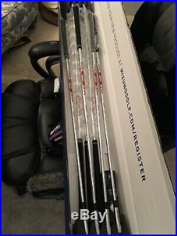 Mizuno MP-20 MB Blades COMBO Golf Iron set 4-PW withModus 105 STIFF NEW In Box