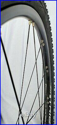 Mountain Bike Wheelset Wheel Set Disc 26 Bladed Spokes Including Tires & Tubes