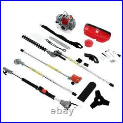 Multi Function Grass Weed Eater String Trimmer 52cc 2-Stroke Gasoline 5 in 1 Kit