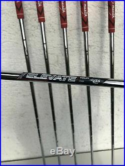 Muziik Golf Irons 4-SW Rare Stiff Shaft Set Blades Japanese Forged Like Miura RH