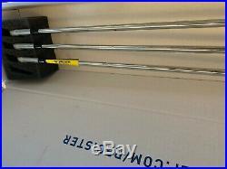 NEW Mizuno MP 18 Iron Set 4-PW BLADES Dynamic Gold Stiff (X100) WithAlign GP Grip