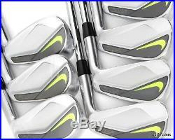 NEW! Nike Vapor Pro Forged Blade Irons 4-PW KBS Tour V X-Flex Steel RH Iron Set