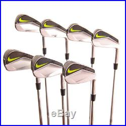 New Nike Vapor Pro Blade Iron Set 3-9 (No PW) AMT S300 Stiff Flex Steel RH