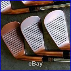 Nike VR Pro Blade Copper Finish Iron Set (5-P) Dynamic Gold S300 Shafts NEW GRIP