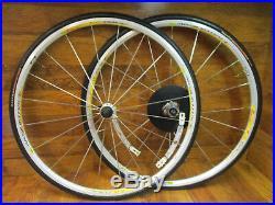 Nos Mavic Aksium Race Bladed Spoke 8 9 10 11 Speed 700c Clincher Wheel Set Tires