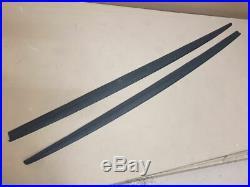 Peformance Side Skirt Blades For BMW 1 Series E81 E82 E87 E88 Pair Set of 2 side