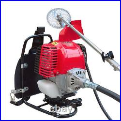 Petrol Backpack Brush Cutter Grass Trimmer with 31cc Petrol 4 stroke Engine US