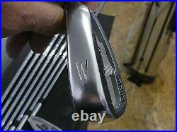 Ping S57 Iron Set 3-W Dynamic Gold S-300. Great Shape! Black Dot/Std. NEW GRIPS