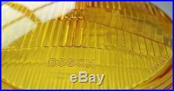 Porsche 911 912 930 964 Set H4 Lhd Yellow Headlight Lenses Bosch New