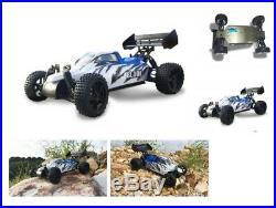 RC Buggy Blade 4WD 40km/h M 110 RTR 2,4 GHz Aluplatte Komplettset NEU