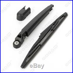 Rear Windscreen Wiper Arm And Blade Set For Vauxhall Opel Astra J