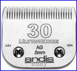 SET-ANDIS ULTRAEDGE 10,30,7FC, 5FC BLADEFit AGC, Oster A5, Many Wahl, Moser Clipper