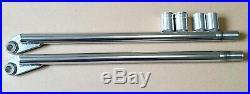 SPEEDWAY Grasstrack Fork blades for JAWA Upright forks complete set