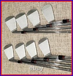 SWEET Ben Hogan Apex Forged 1999 Iron Set 3-E New Lamkin Z5 Grip Apex 4 Stiff RH
