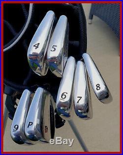 SWEET Wilson Staff Tour Blade Iron Set 4-PW Rare 2010 Model FG59 RH TX105 Stiff