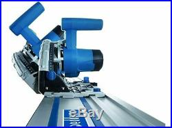 Scheppach CS55 PL55 160mm Plunge Saw 2 x 700mm Guide Rail Set BAY10