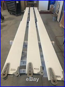 Schweizer Main Rotor Blades Set Of 3 P/N 269B1145-1 241 Hours Since New