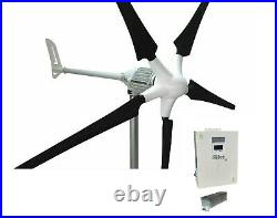 Set i-1500W 48V Windgenerator + Hybrid Charge Controller iSTA-BREEZE
