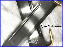 Set of 2 Wing Chun Butterfly Sword Bart Cham Dao pattern steel Blade