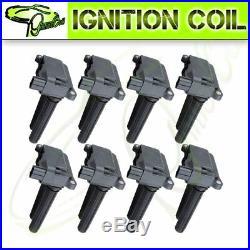 Set of 8 Brand New Ignition Coils for Chrysler Dodge Challenger Jeep Ram UF504