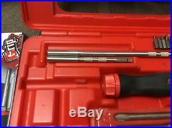 Snap on tools screwdriver set RED soft grip with ratcheting blade set snap-on