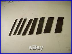 Stanley #46 plane dado blade set reproduction