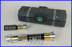 Star Wars Disneyland Galaxy's Edge LUKE SKYWALKER Lightsaber +36 Blade Gift Set