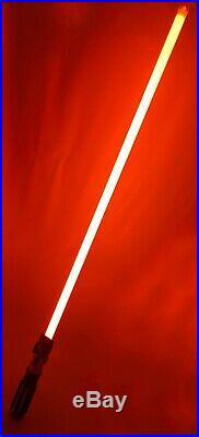 Star Wars Disneyland Galaxy's Edge Legacy DARTH VADER Lightsaber Blade Gift Set