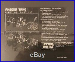 Star Wars Galaxys Edge Ahsoka Tano LightSaber With Blades Set SOLD OUT (2x 36)