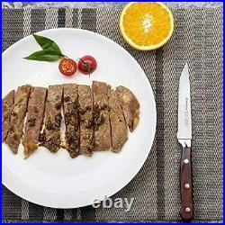 Steak Knife Set Dining Knives Sharp Blade German Stainless Steel 8-Piece Pack