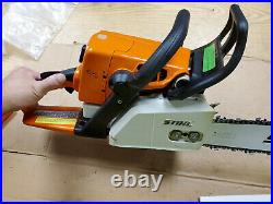 Stihl MS250 Chainsaw With Brand New 18 Bar and Chain Plus Extras