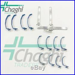 Super-Slide Laminectomy Casper Cervical 13 PCs Set High Blades Titanium Chaghi