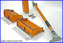 TapeTech 10 & 12 drywall MAXXBOX set with adj handle and Pump Free Blades