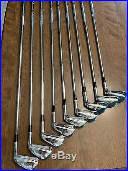 Titleist 1987 Tour Model Box Blade Iron Set
