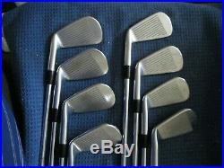 Titleist 714 MB Forged Blade iron Set 3-P DGX100 X-Stiff Steel Shafts New Grips
