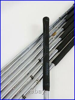 Titleist Forged Tour Model Iron Set 3-9 + SW Blades Regular Steel New Grips