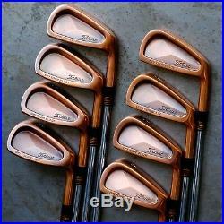 Titleist Tour Blade Rare Japan Limited Model Copper (3-Pw Set) S-Flex New Grip