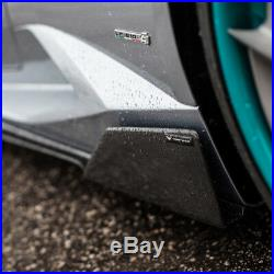 Vorsteiner Aero Side Blades Carbon Fiber Set Lamborghini Huracan Novara Edizione