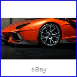 Vorsteiner Aventador-V Aero Side Blade Carbon Fiber Set Lamborghini Aventador V