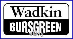 Wadkin Bursgreen DM & DMV 5 Piece Mortice Chisel & Auger Bush Set £115 + Vat
